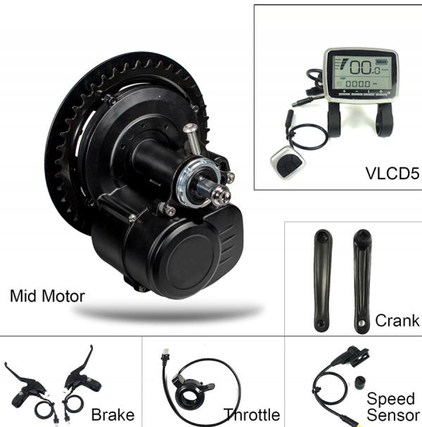Torque sensor Mid-drive e-bike kit BikeBoost